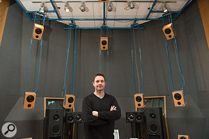 As Associate Professor at McGill University's Schulich School of Music, Richard King's research now involves experimenting with recording and mixing for multi-speaker listening environments.