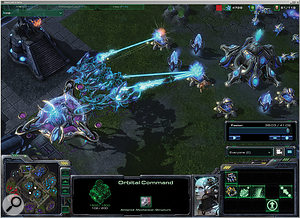 Starcraft II is in beta‑testing at the time of writing.