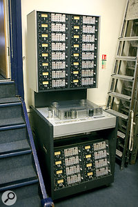 Clients who still want to record to tape are well catered for at Konk with Studer and Otari multitracks.