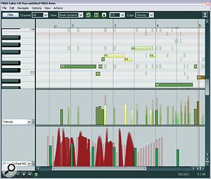 You can now edit multiple MIDI Items within the same MIDI editing window, pulling any specific Item into the foreground for editing as required.