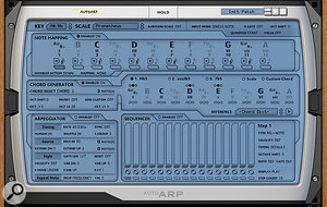 3: Far more than just another arpeggiator, AutoArp is a  deep and sophisticated note processor with its own unique capabilities and programming system.