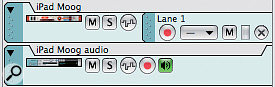 2. When you're monitoring external instruments via monitor-enabled audio tracks, it's worth keeping their MIDI and audio tracks together in the sequencer, for clarity.