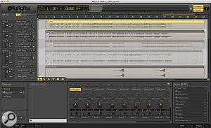 A project running in OhmStudio.