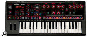 Roland's designers have crammed a  lot of controls into the JDXi's 57 x 24 cm front panel.
