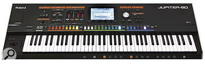 Resemblance to its ancestor aside, the Jupiter 80's large, colourful buttons and simple control panel make it especially useful for live performance.