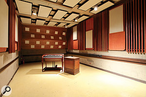 The legendary Studio 3 live room, where much of the Beach Boys' Pet Sounds was recorded.