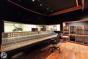 Studio 1's control room houses an enormous vintage Neve 8068 console.