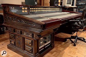 Studio C features a custom-built Avalon console.