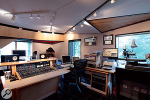 The Abbey Road mastering suite still features an original EMI TG12410 mastering console.