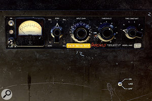 Fairchild 660 compressor.
