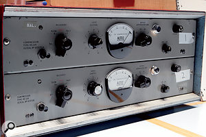 Two of EMI's unique RS124 compressors.