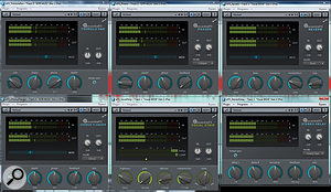 A selection of the new Essential FX plug-ins.