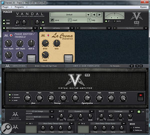 Though slightly cut-down compared with the full version, Vandal SE is nevertheless very capable and sounds great.