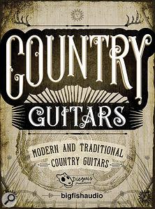 Big Fish Audio Country Guitars.