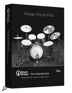 Drumdrops Vintage Folk Rock Kit sample library.
