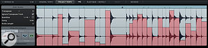 The new Step Envelopes let you control effect and mixer parameters on aper‑slice basis.