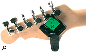 This Intelli tuner is incredibly convenient and costs next to nothing.