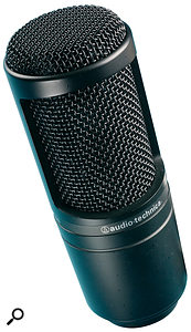 One of the best budget recording mics on the market, the AT2020 is capable of delivering results that bely its modest cost.