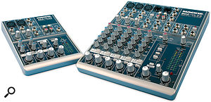 Two more winning mixers from Mackie, the 402 and 802VLZ are versatile, good sounding and affordable.