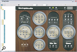 Satisfy your need for exotic stringed instruments with AAS's String Studio.
