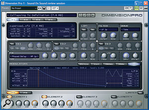 Exploring Sonar 8's Dimension Pro Synthesizer