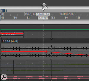 Hovering the cursor over the top half of the timeline, then clicking and dragging, can provide horizontal or vertical zoom in or zoom out.