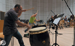 No orchestral library is complete without some Hans Zimmer-style percussion.