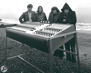 The Sound Techniques team take their System 12 for a  seaside outing.
