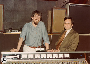John Wood and Geoff Frost (right), 1978.