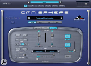 The main page of Spectrasonics' new STEAM engine. (Coal not provided.)