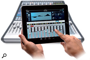 Increasingly, manufacturers are developing iPad apps that allow their digital consoles to be controlled remotely.