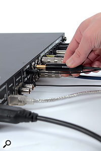 One of the main considerations when buying an interface is whether it has enough inputs and outputs for your purposes.