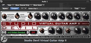 Studio Devil Virtual Guitar Amp II