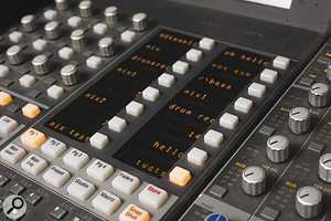 Jenkinson seems to prefer having adesk at the centre of his studio, arole which is currently occupied by aEuphonix CS3000.
