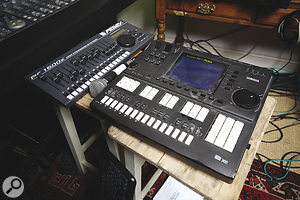 Tom Jenkinson much prefers to work with hardware sequencers, and specifically his Yamaha QY700.