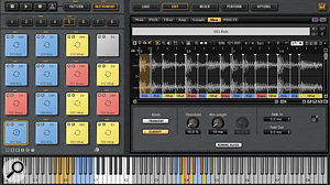 The Beat Agent also offers loop slicing and can classify individual slices in different drum types.