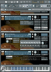 Top-notch sample libraries such as LA Scoring Strings, amongst others, can be incredibly useful in preparing the arrangement, even if the end result will be a recording of real musicians.