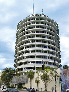 The iconic Capitol Records building in LA hosted this year's trade mission from the UK, where British music production companies got the chance to network with and learn from Hollywood music supervisors.