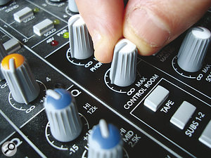 Don't compare the overall tonality of different mixes at just one volume level. Give that monitor level control some exercise to get amore informed perspective.