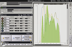 Plug‑ins such as Melda's MAutoEqualizer can measure the overall frequency response of your whole mix, and then compare it with that of any commercial release. Although you must always carefully evaluate the results of any such software analysis by ear, it can be a useful reality check.