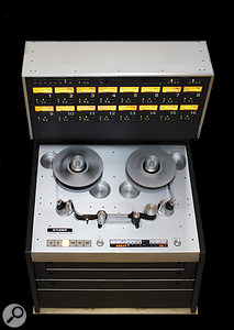 The A800 at Svenska Grammofon Studion is a 16‑ rather than 24‑track model, and is a Mark I, meaning that it has transformer‑balanced electronics, unlike the transformerless, 24‑track MkIII modelled by UA. But it's still a Studer A800...