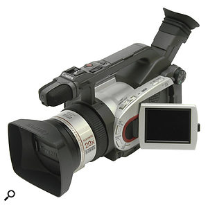 Canon's XM1 was Adam's first digital video camera. Shooting standard‑definition DV to tape, it's dated by modern standards.