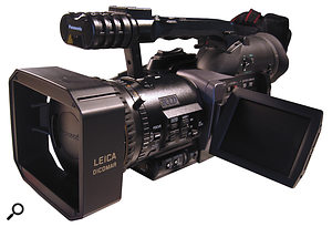 The Panasonic DVX100 was alandmark in DV cameras, shooting progressive, film‑like motion at 24p and 25p. Adam realised its potential for emulating film.