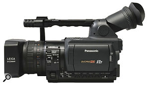Upgrading to the Panasonic HVX200 using ahire‑purchase deal, Adam moved into using high‑definition and solid‑state storage, for  higher resolution video and faster workflow.