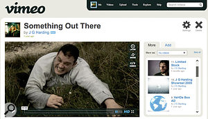 Vimeo provides avery nice, clean interface for video playback, and hosts an active community of film makers, as well as less 'spam' video than YouTube.