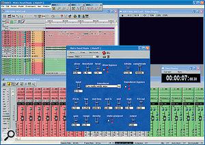Below: The compiled plug‑in at work on the SADiE H64.