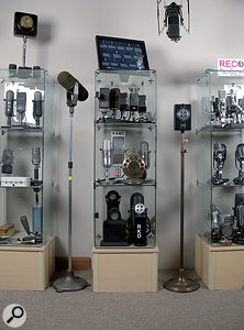 AEA maintain an extensive reference collection of vintage microphones!