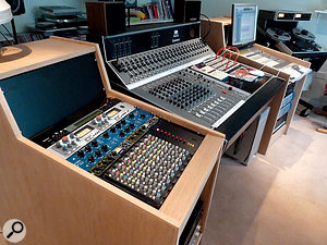 John Wood's new mixing suite is designed with the specific intention of allowing him to mix digitally recorded projects in the analogue domain.