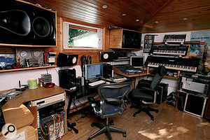 Youth's main studio is in Spain, but he also has aproject studio at his home in London. Both use Logic software as the primary recording tool.