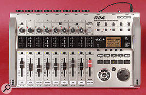 Like the faders, the transport section, jog wheel and associated controls double up to provide DAW control over USB.